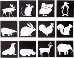#Burton Kramer, Expo '67 #animal #Icons