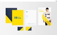 Creative Review Sweden's new look #brand #sweden