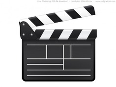 Psd movie clapboard icon Free Psd. See more inspiration related to Design, Icon, Graphic design, Icons, Web, Movie, Web design, Graphics, Psd, Web icons, Horizontal and Clapboard on Freepik.