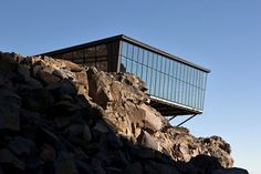 Cafe Knoll ridge on the edge #mountain #architecture #volcano #caf