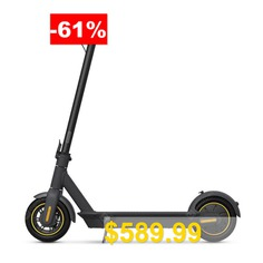 Ninebot #MAX #G30 #Electric #Scooter #Fixed #Speed #Cruise #350W #Motor #15.3Ah #Battery #65km #Mileage #Black