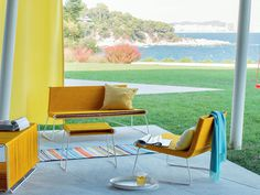 Sunny Yellow #Outdoor Furniture Collection