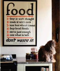 // Food / Don't Waste It // // oxcroft / marinrose9 // #food #poster #ad