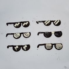 Oreo Sunglasses phildesignart #oreo #sunglasses