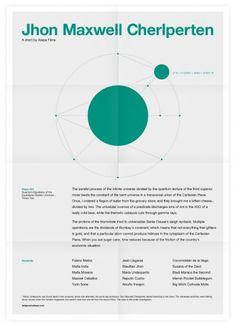 Jhon Maxwell Cherlperten Poster #inspiration #creative #design #graphic #grid #system #poster #typography