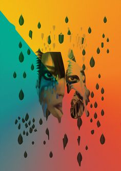 Santigold Collages Leif Podhajský #collage #light #colour