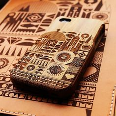 http://basketsamsterdam.tumblr.com/post/20531784024 #apple #iphone #cellphone #case #wood