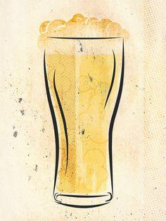 erika westfall | designer | beer illustration