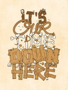 Typeverything.com 'Les Goonies' by Theoze from... - Typeverything #typography
