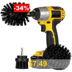 3-in-1 #Electric #Drill #Brush #Head #- #BLACK