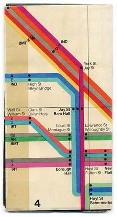 1972abcl.jpg (365×673) #vintage #subway map
