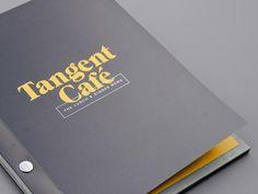 FiveThousandFingers_TangentCafe_07 #serif #menu #minimal #branding