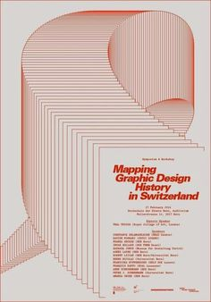 symposium mgdhs announcement r.jpg (485×695) #history #mapping #swiss #design #graphic #switzerland #typography