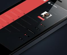 UI Design: Swing for iPhone #design #interface #clean #simple #sleek #ui #mobile