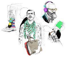 Stern : ANDRÉ GOTTSCHALK ILLUSTRATION_GRAPHIC DESIGN #ink #scetch
