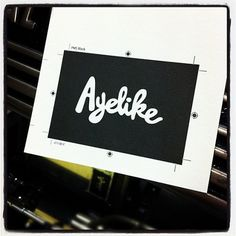 Instagram #business #branding #card #print #design #letterpress #typography