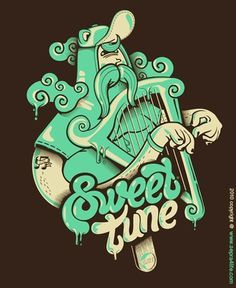 Sweet tune by sepra4life #digital #design #art #vector