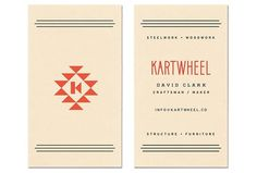 L A N D #business #card #land #by #kartwheel #work