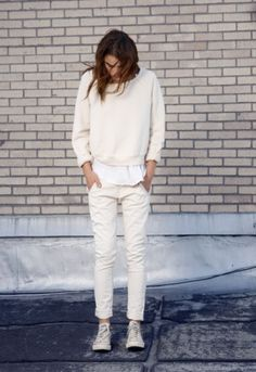 BLCKout #fashion #white #bambi northwood