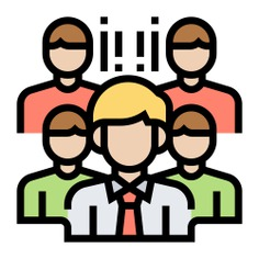 See more icon inspiration related to team, teamwork, partner, group, user, person, network, avatar, company, men, networking and people on Flaticon.