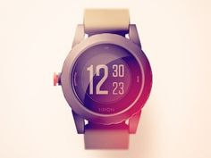 "Dribbble - Nixon ""The Genie"" Watch by Mikael Westman"