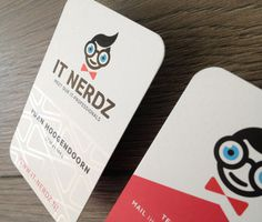 IT Nerdz business card