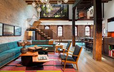 Tribeca North Loft Andrew Franz Architect