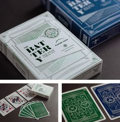 New Logo and Identity for The Battery by MM #print #design #playing #san #francisco #cards #california