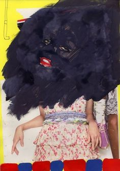 Claudio Parentela's collages #arts