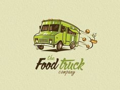 Fud #truck #branding #food #illustration #logo