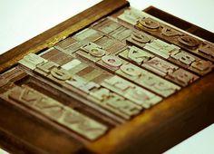 Photography - Jarrod Joplin Design #letter #press