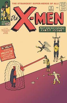 Xmen+1+Dan+Scanlon001.jpg (image) #comic #illustration