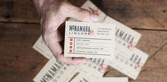 McNamara Liquors | Two Arms Inc. #card #print #business #stationery