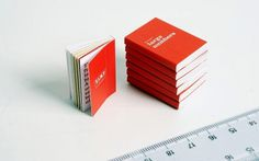 XL — MEDIUM: EXTRA LARGE #tiny #red #small #book #annual #report