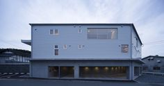 Hakemiya Nursery School by rhythmdesign + CASE-REAL #minimalist #architecture
