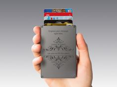 Cascade Wallet – Simplify Your Everyday Carry #tech #flow #gadget #gift #ideas #cool