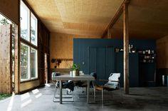Beautiful Houses: Minimal Interior Design by Jacob Hertzell #interior #old #beautful #retro #wood #minimal #houses