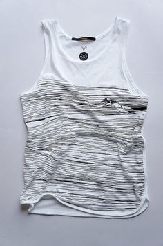 Another Long Silence Tank Top sizes M by huebucket on Etsy #women #ocean #swim #vest