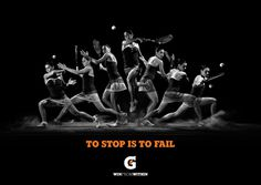 Gatorade No limits last forever on Behance #gatorade