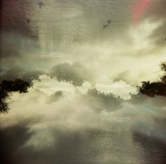 'Misty' by Alix Land #clouds #exposure #mist #photography #double #photograp #lake #holga