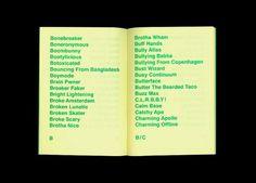 «Random Poetry 1» (2011) published by Random Press (Sandra Doeller, Marco Balesteros & Michael Satter) #from #designers #sandra #design #germany #publication #random #publishing #balesteros #press #marco #doeller #typography