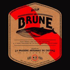 Brasserie Artisanale du Château Brune #beer #branding