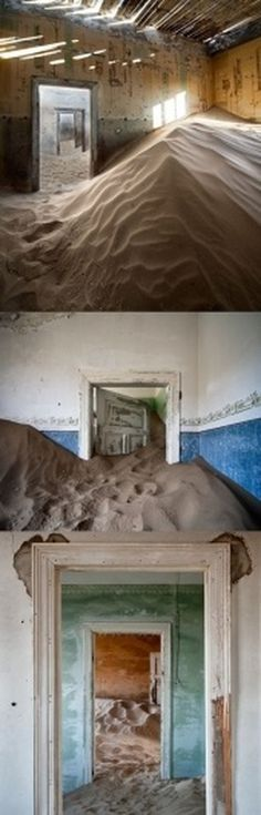 Colossal | An art and design blog. | Page 203 #abandoned #house #desert
