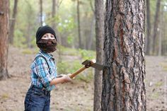 Lumberjack Halloween Costume #homemade #diy #costume