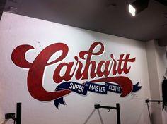 Expresh Letters Blog #carhartt #logo #lettering