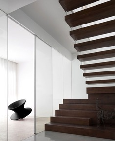 Minimalist White Residence in China by AD Architecture - InteriorZine #decor #minimal #white #architecture #stairs