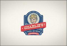 Charlie's #logotype #logos #branding #kid #retro #food #brand #vintage #50s #catering