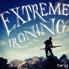 Bing Summer of Doing Jon Contino, Alphastructaesthetitologist #lettering #jon #contino #iron #extreme #ironing #typography
