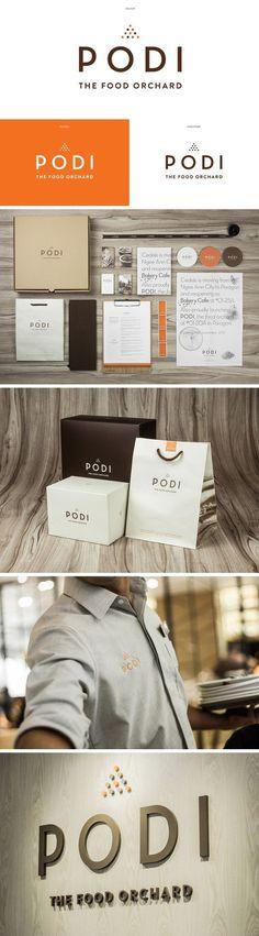 identity / Podi restaurant #branding #design #identity