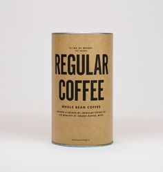 Regular Coffee #packaging
